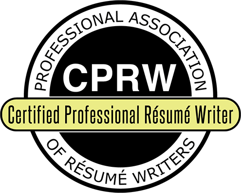 CPRW Certified Professional Resume Writer Seal
